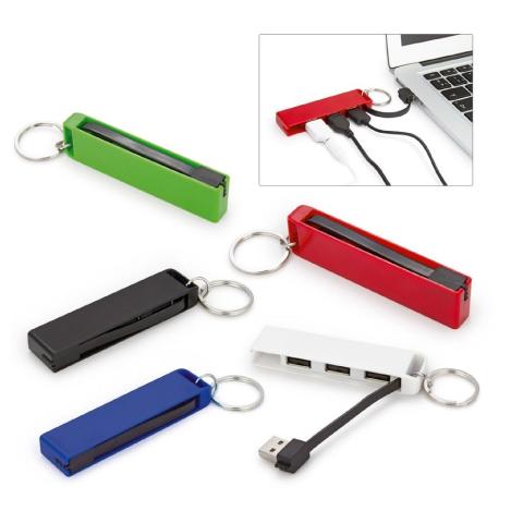 Llavero multipuerto USB