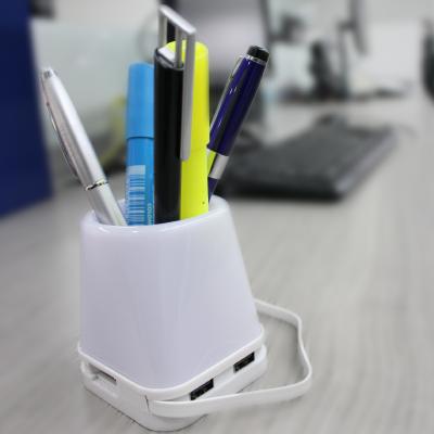 Portalapices con luz- Puerto USB